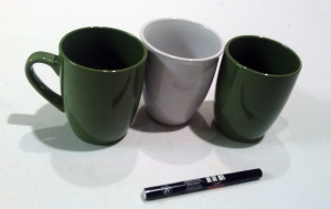DIY Mugs-Supplies Used