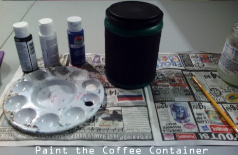 Paint Coffee Container