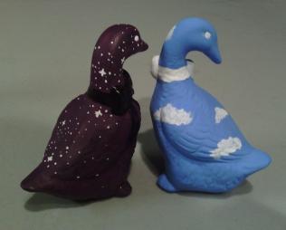 Backs of Geese