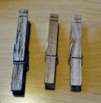 Plain Clothespins