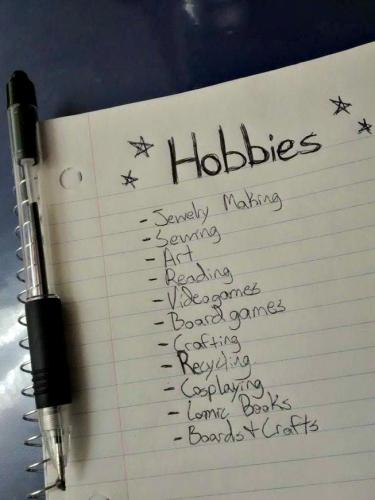 Hobby List