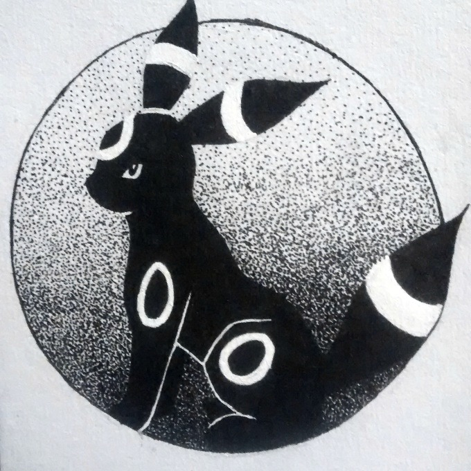 umbreon-inktober-day-6