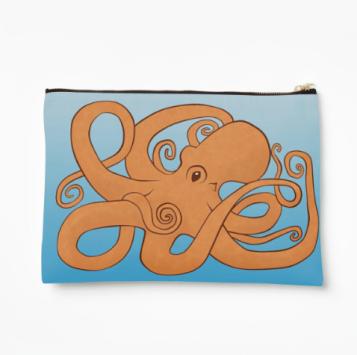 Redbubble Octopoda Studio Pouch