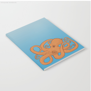 Society 6 Notebook