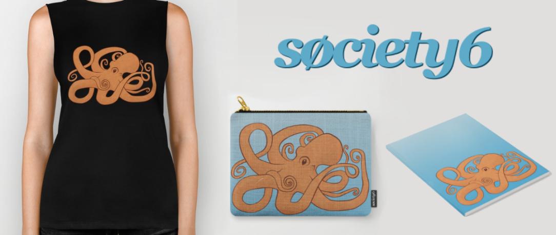 Society 6 Octopoda Monthly Round-up