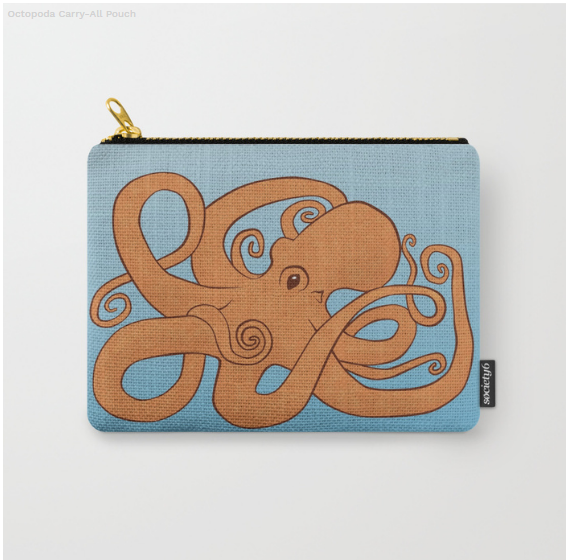 Society6 Carry-All Pouch