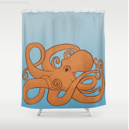 Society6 Shower Curtain
