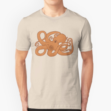 Unisex Redbubble t-shirt Octopoda