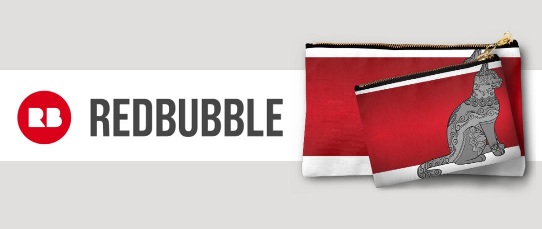 Redbubble Elegant Cat Monthly Round-up